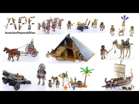 Alle Playmobil History Spielsets 2016 - Playmobil Build Review