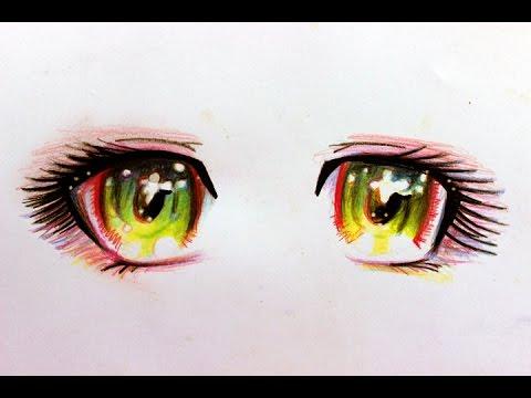 Dibuja ojos Manga en estos sencillos pasos! - YouTube
