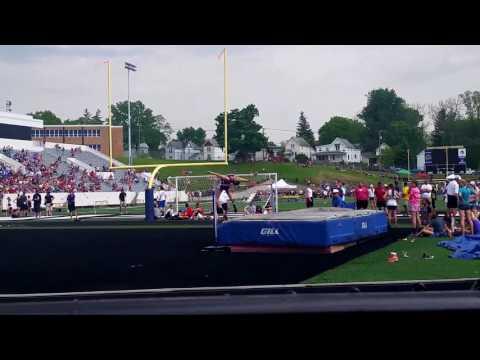 Julia Smith High Jump Swanton High School Swanton, Ohio