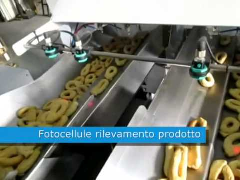TECHNO D - Packaging machine for fragile biscuits, taralli and similars