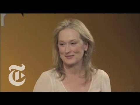 TimesTalks: Nora Ephron, Meryl Streep and Stanley Tucci | The New York Times