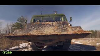 Amazing world military equipment for trenches, moats, ditches: Mega Tank