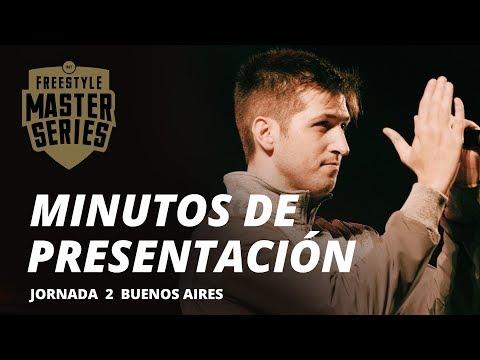 MINUTOS DE PRESENTACIÓN