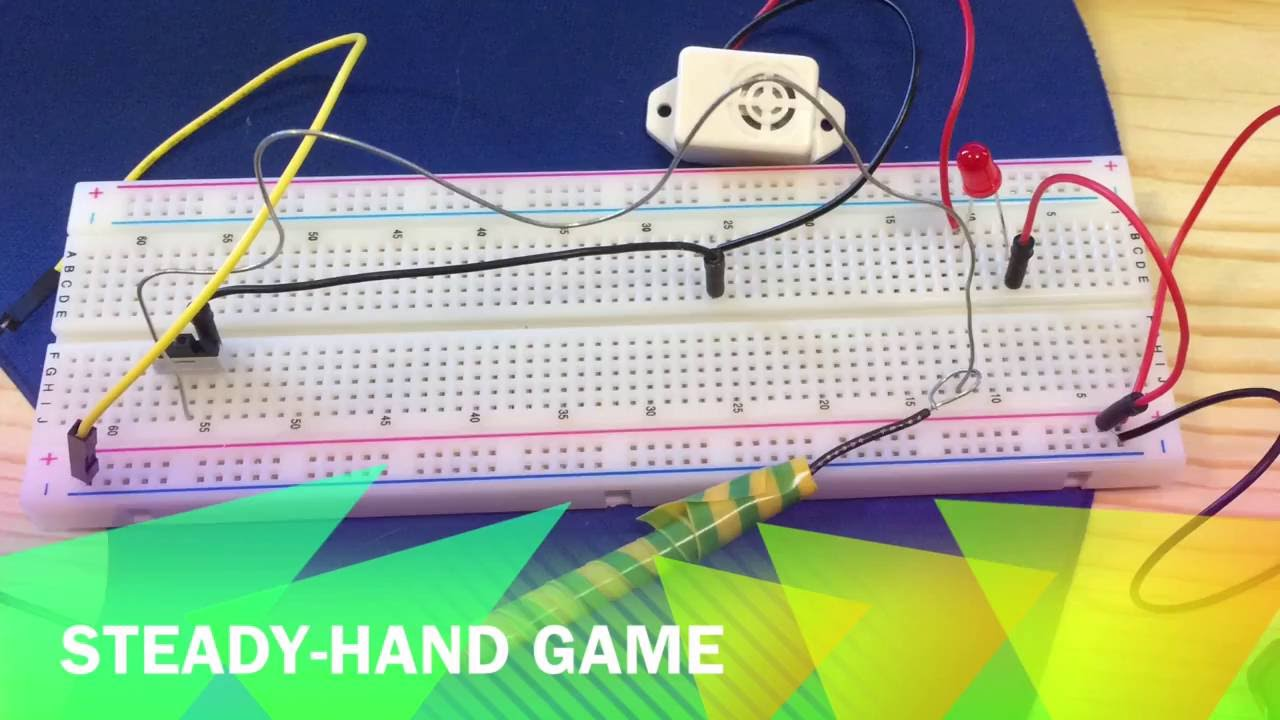 Steady Hand Game Youtube Alternate Switching Led Circuit Using Ic 555 Gadgetronicx