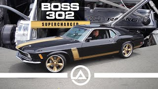 Supercharged Boss 302 Mustang Custom