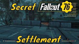 Fallout 76 - Ultimate Secret Settlement Camp Under a Bridge