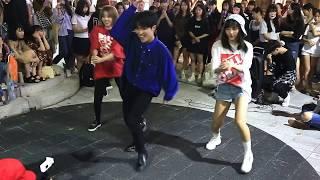 JHKTV]홍대댄스 hong dae  k-pop dance DOB(pj ty ) china orange team all i wanna do