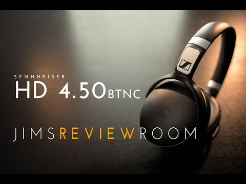4869c179090 Sennheiser HD 4.50BTNC - NOISE CANCELLING - REVIEW - YouTube
