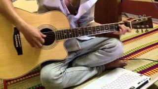 Bức Tranh Từ Nước Mắt -MR SIRO Guitar (Việt Long) Cover aucotic