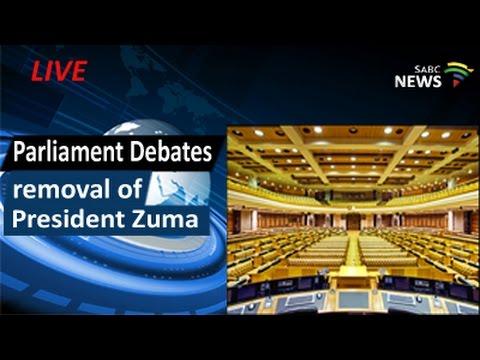 Parliament debates removal of President Zuma, 05 April 2016 - pt2