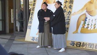 平成29年1月7日(土)、豪栄道、鶴竜の優勝額贈呈式に行ってきました! ...