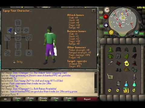 New 10 Def Magic Armour from zeah OSRS