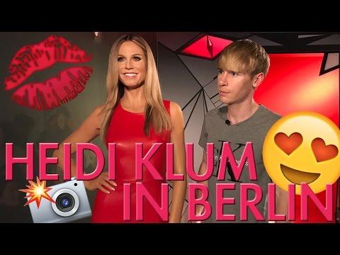 GNTM 2017: Wir treffen Heidi Klum