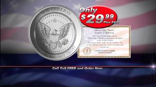 Trillion Dollar Coin - American Coin Treasures Tribute to the Trillion Dollar Coin