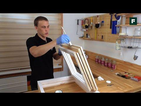 Окраска деревянных окон и дверей // FORUMHOUSE