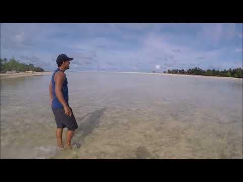 Exploring North Tarawa, Kiribati