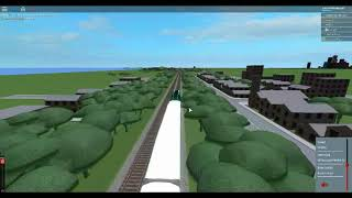 ROBLOX Driving a GO Transit Commuter Train at Toronto Canada