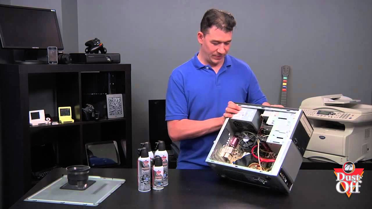 how to clean the inside of your computer monitor
