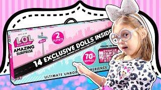 ЛОЛ Удивительный Сюрприз для Амельки! Чтобы получить LOL -  нужно быть как кукла ЛОЛ!