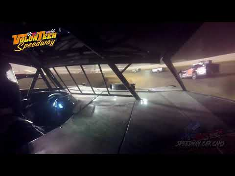 #4 Michael Smith - Crate Late Model - 8-10-19 Volunteer Speedway - In-Car Camera