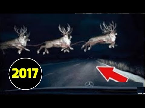 Santa Claus Caught On Camera 2017 | Slant Claus In Real Life | Incredible World 9
