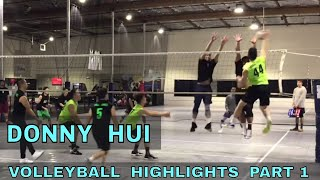 Donny Hui Volleyball Highlights PART 1 - Elevate Volleyball League 2018