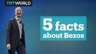 5 facts about Jeff Bezos