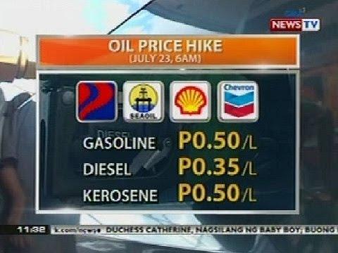 BT: Oil price hike (July 23, 2013)