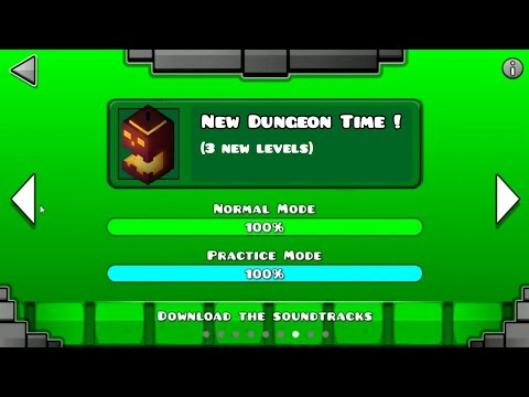 GEOMETRY DASH DUNGEON (`NEW`ALL LEVEL) Part 2