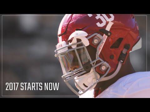 Alabama Crimson Tide 2017 starts now