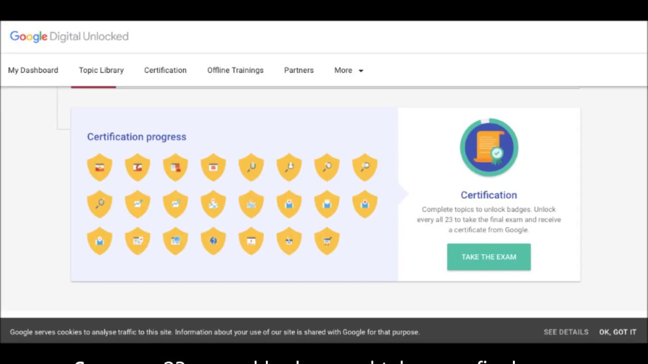Online Free Google Digital Unlocked Certification Course By Google