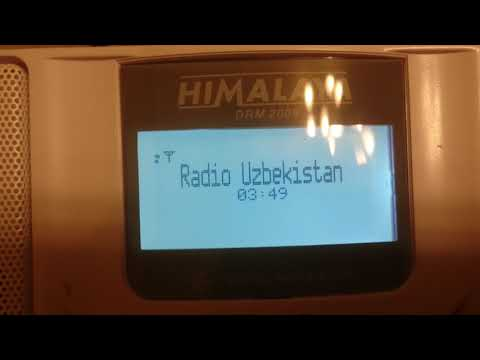 DRM 5830 kHz radio Uzbekistan 27012019