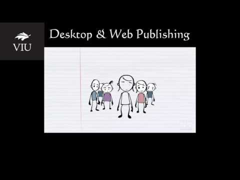 About Desktop & Web Publishing & other online Pro-D