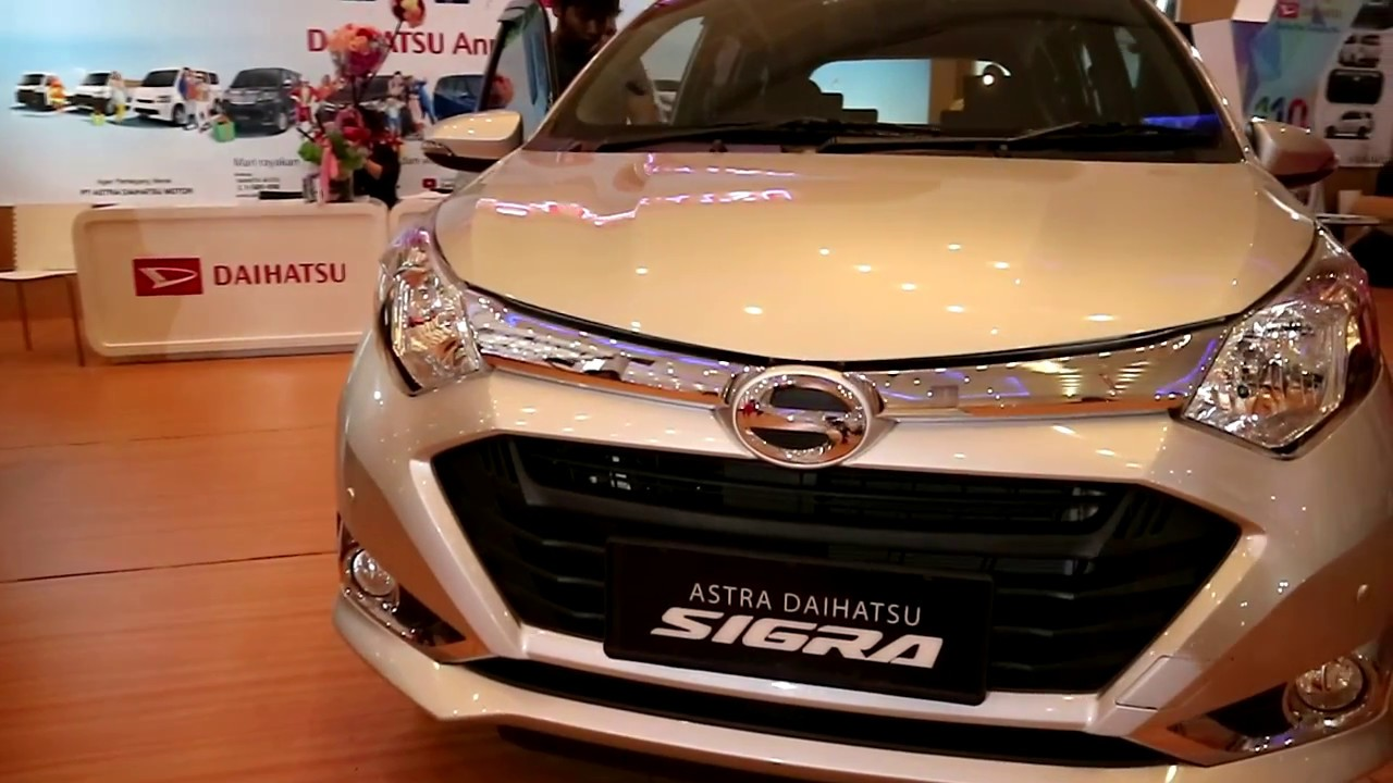 New Daihatsu Sigra R Vvt I 2018 Exterior And Interior Youtube