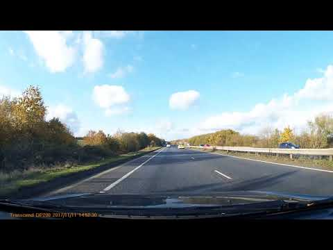 Norwich UK Dashcam : Ford Mondeo 2.0 Si