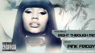 Right through Me - Nicki Menaj (Chopped & Screwed)