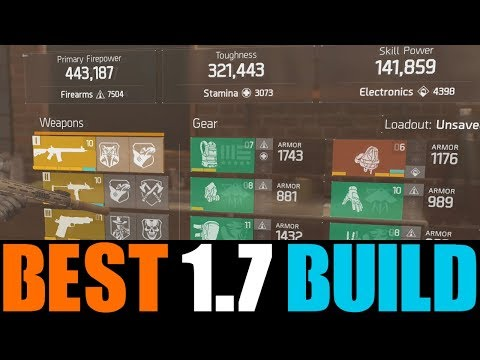 THE DIVISION - BEST PVP DAMAGE & DPS BUILD IN PATCH 1.7! STRONGEST DAMAGE BUILD AFTER PATCH 1.7