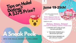 Muslim Dating? Halal Love?- Halal Marriage Challenge2020