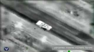 Israeli Air Force  Destroys a global jihadists Terror Squad  APC - Israel Egypt sinai border