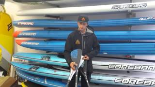 Paddle Review, of the Starboard SUP tuffskin, Tiki tech, and Carbon Enduro Paddles