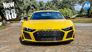 2019 AUDI R8 Performance (620hp) - DRIVE & SOUND!
