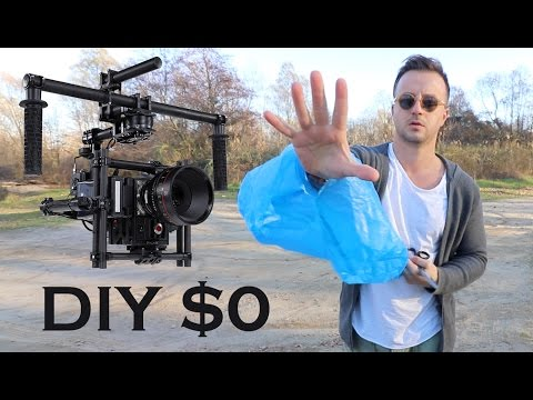 DIY $0 GIMBAL STABILIZER FOR DSLR CAMERA