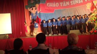[Nghệ Tĩnh HaUI] Rạng rỡ Việt Nam - Chào tân sinh viên 2014