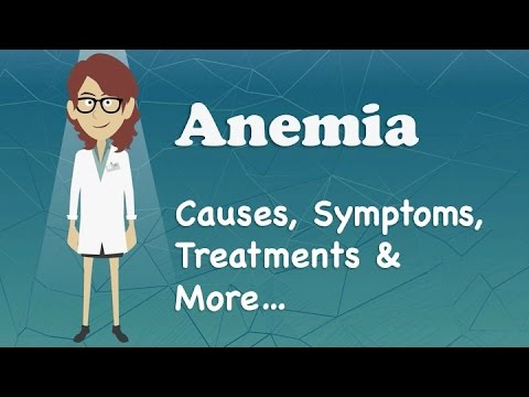 Anemia - Causes, Symptoms, Treatments & More…