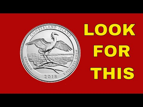 2018 CUMBERLAND ISLAND QUARTERS TO LOOK FOR NEW ERRORS!