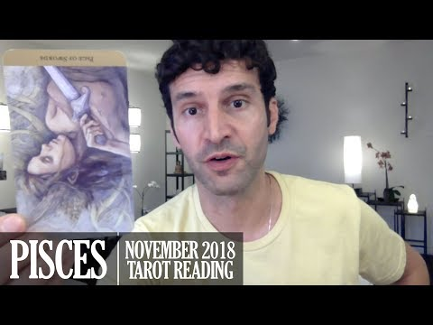 PISCES November 2018 - Extended Monthly Intuitive Tarot Reading by Nicholas Ashbaugh