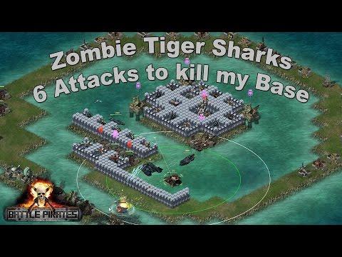 Battle Pirates - SIX hits to kill my base!