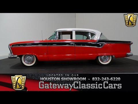 1956 Nash Ambassador #830 Gateway Classic Cars Houston Showroom