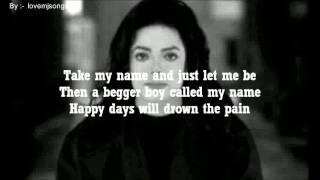 michael jackson - stranger in moscow (lyrics)