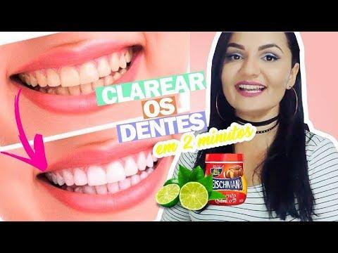 Como Clarear Os Dentes Em Casa Em 2 Minutos Receita Caseira